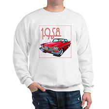 1958 Plymouth Belvedere-10 Sweatshirt