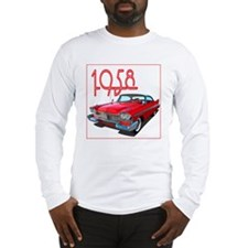1958 Plymouth Belvedere-10 Long Sleeve T-Shirt