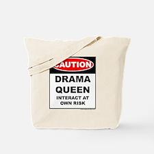 CAUTION Drama Queen Tote Bag