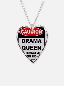 CAUTION Drama Queen Necklace