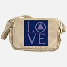 Cute Alcoholics anonymous recovery Messenger Bag