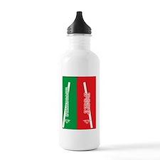 PORTstar_flip_flops Water Bottle