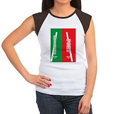 PORTstar_flip_flops Women's Cap Sleeve T-Shirt
