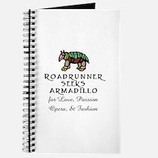 Roadrunner Seeks Armadillo Journal