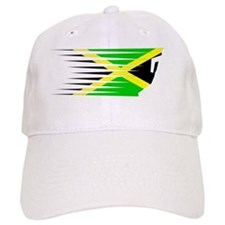 AthleticsDesign JAMAICA White Baseball Cap