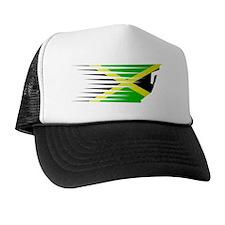 AthleticsDesign JAMAICA White Trucker Hat