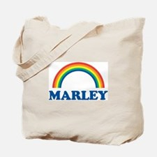 MARLEY (rainbow) Tote Bag