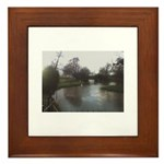River Medway Tonbridge Framed Tile