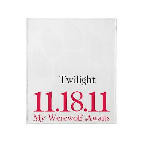 werewolfAwaits12 Throw Blanket