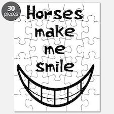 Horses Make Me Smile Puzzle