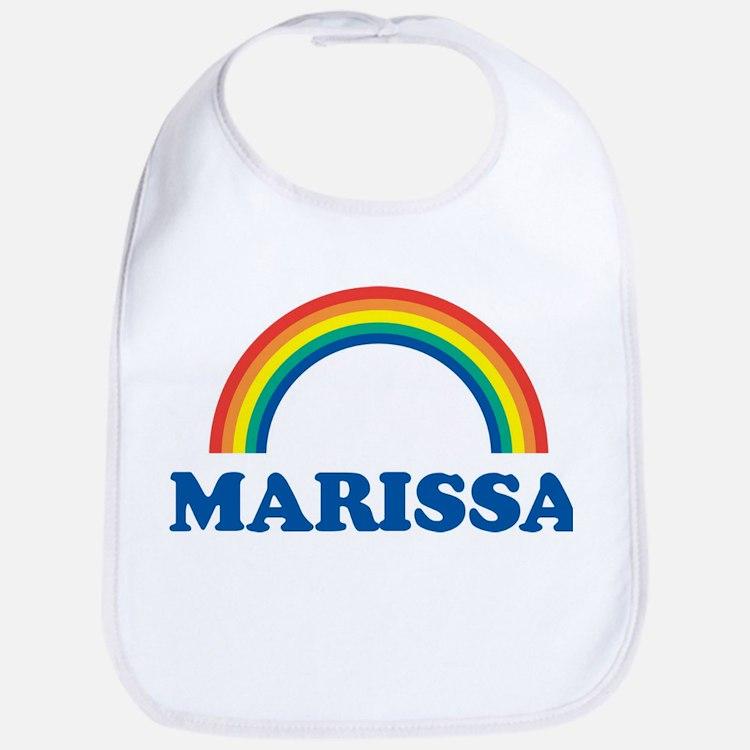 MARISSA (rainbow) Bib