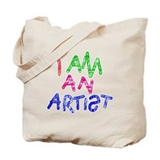 I am an artist light Tote Bag