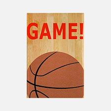 Basketball iPhone 3G Hard Case, M Rectangle Magnet