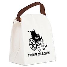 Wheelchair Canvas Lunch Bag