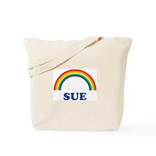 SUE (rainbow) Tote Bag
