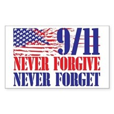 Never Forget 911 Decal