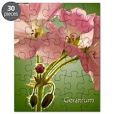 PinkGernaiums_5X7 Puzzle