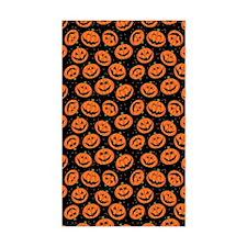 Halloween Pumpkin Flip Flops Decal
