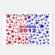 Michele bachmann red and  Postcards (Package of 8)