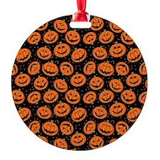 Halloween Pumpkin Flip Flops Ornament