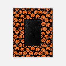 Halloween Pumpkin Flip Flops Picture Frame