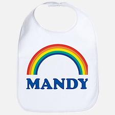 MANDY (rainbow) Bib