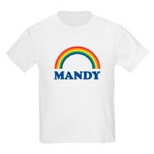 MANDY (rainbow) Kids T-Shirt