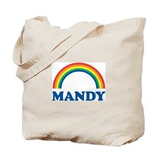 MANDY (rainbow) Tote Bag