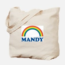MANDY (rainbow) Tote Bag