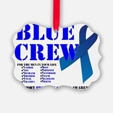 blue crew 4men Ornament