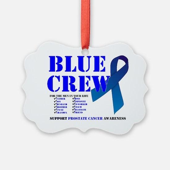 blue crew 4men Ornament