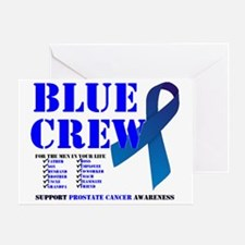 blue crew 4men Greeting Card
