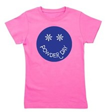 powder day face Girl's Tee