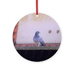 Pigeon Ornament (Round)