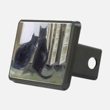 Black Cats Hitch Cover