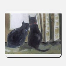 Black Cats Mousepad