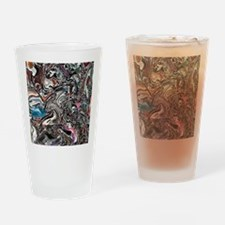 Graffiti Art Drinking Glass