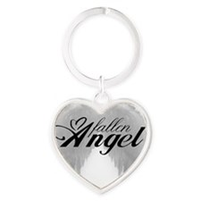 fallenangel Heart Keychain