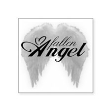 "fallenangel Square Sticker 3"" x 3"""