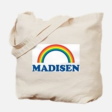 MADISEN (rainbow) Tote Bag
