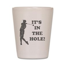 inthehole Shot Glass