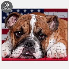 Patriot Bulldog Puzzle
