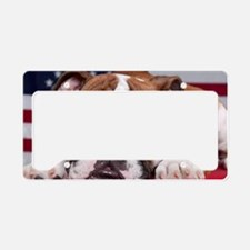 Patriot Bulldog License Plate Holder