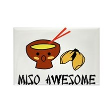 misoawesome Rectangle Magnet