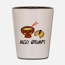 misogrumpy Shot Glass