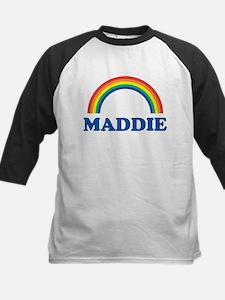 MADDIE (rainbow) Kids Baseball Jersey
