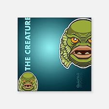 """flipflop_creature Square Sticker 3"""" x 3"""""""