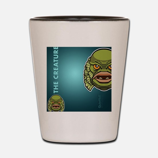 flipflop_creature Shot Glass