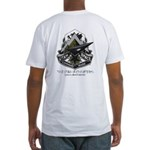 Utah Space Command Green -Fitted T-Shirt