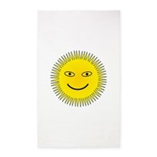 Smiling Sun 3'x5' Area Rug
